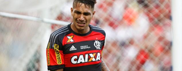 Foto: Guerrero - Flamengo (Gazeta Press)