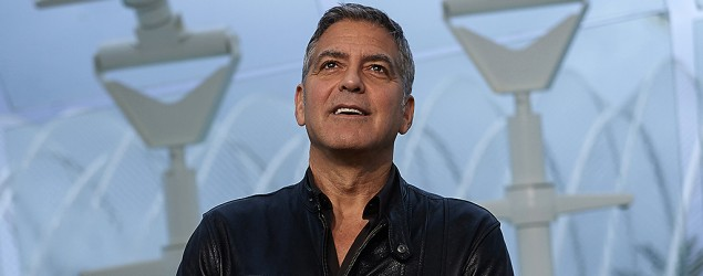 George Clooney's new role in 'Tomorrowland' (Getty Images)