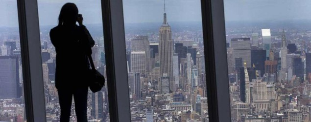Top of World Trade Center offers 'forever' views