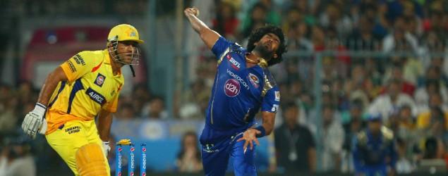 Action photos: The Mumbai-Chennai IPL final