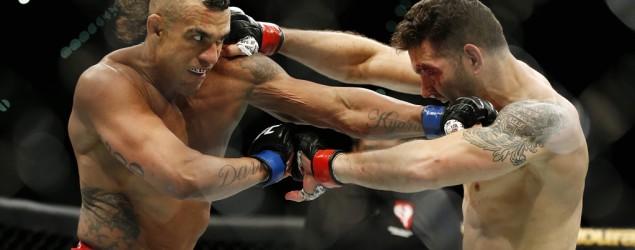 Foto: Chris Weidman x Vitor Belfort - UFC 187 (Reuters)