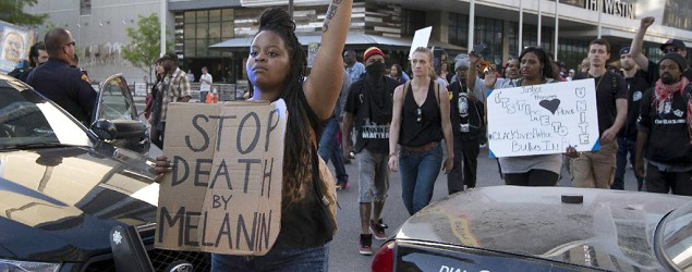 Officer's acquittal ignites protest in Cleveland. (AP)