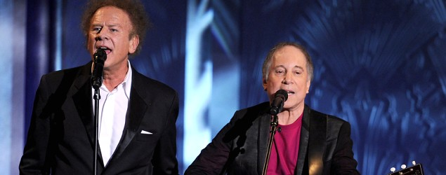 Art Garfunkel and Paul Simon perform in 2010 (Kevin Winter/Getty Images for AFI)