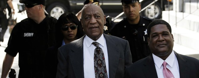 Bill Cosby arrives at the Montgomery County Courthouse for a preliminary hearing, Tuesday, May 24, 2016, in Norristown, Pa. Cosby is accused of drugging and molesting a woman at his home in 2004. (Matt Slocum/AP)