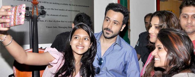 Emraan and Vidya promote their forthcoming film