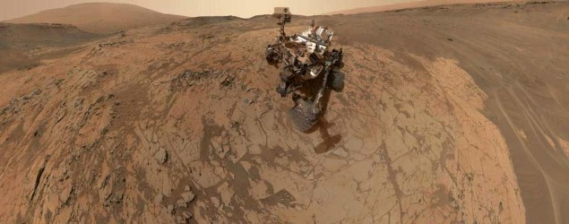 Self-portrait of NASA's Curiosity Mars rover. (NASA/Getty Images)