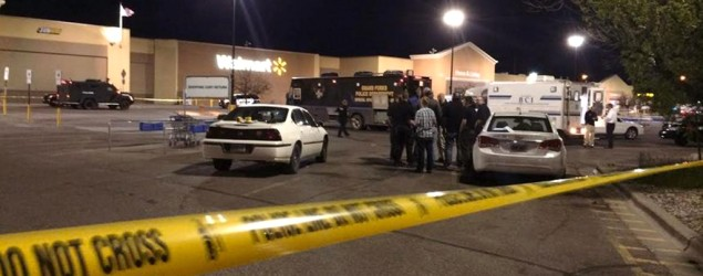 Two dead and several injured in Walmart shooting. (WDAY)