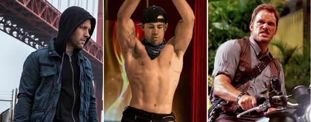 This summer's hunkiest movie stars (tricut)