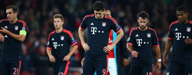 Bayern-Stars, Bild: Getty