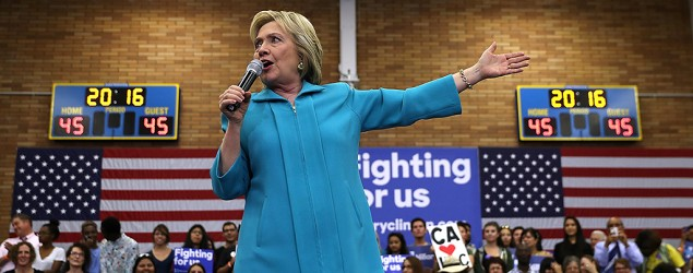 Hillary Clinton doubles down on defense of email practices. (Getty Images)