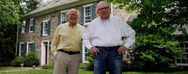 Un 'padre' y su 'hijo' se casan después de 52 años de relación