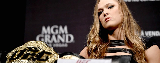 UFC fighter takes personal shots at champion Ronda Rousey. (Getty Images)