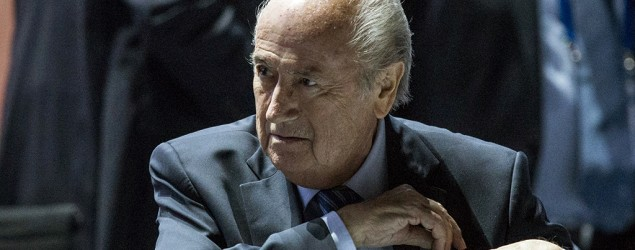 Blatter wins re-election as FIFA president. (AP)