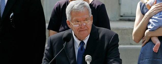 Ex-House Speaker Dennis Hastert. (AP)