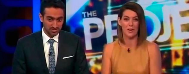 Revuelo en Twitter por el aparente topless de una presentadora. (Imagen tomada del vídeo)