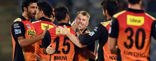 Live: Royal Challengers Bangalore vs Sunrisers Hyderabad