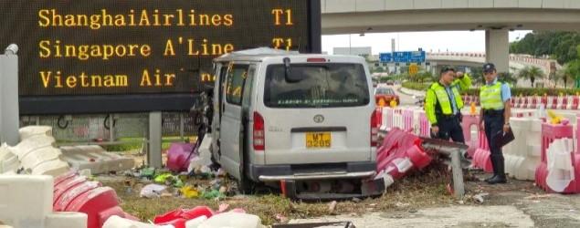 機場國泰城附近車禍1死1傷
