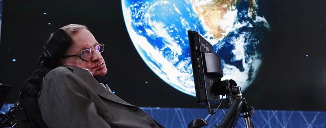Stephen Hawking (Lucas Jackson/Reuters)