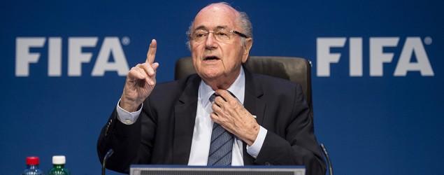 Sepp Blatter to resign as FIFA president. (AP)