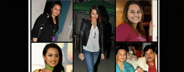 Sonakshi Sinha then and now