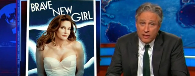 """Welcome to being a woman in America,"" says Jon Stewart. (Comedy Central)"