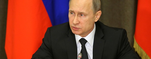 Russian President Vladimir Putin (Sasha Mordovets/Getty Images)