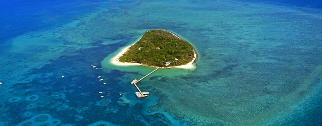 An island near the Great Barrier Reef. (Getty Images)