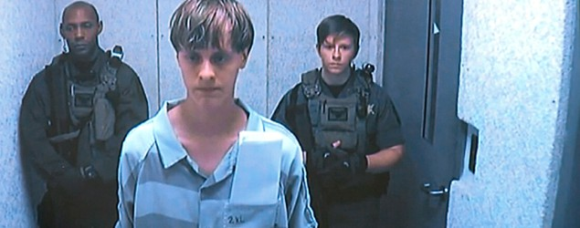 Dylann Roof appears via video before a judge in Charleston, S.C, on Friday, June 19, 2015. (Centralized Bond Hearing Court, of Charleston, S.C. via AP)