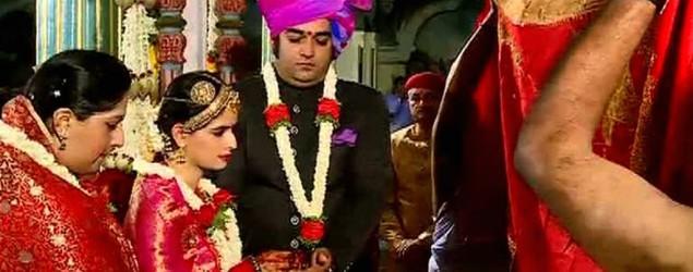 Now, watch India's latest big fat royal wedding