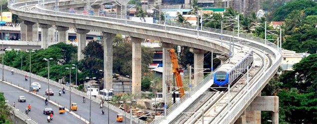 Photos: Chennai metro opens to public