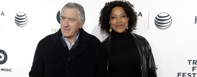 Actor Robert De Niro and wife Grace Hightower attend the 2014 Tribeca Film Festival. (Andy Kropa/Invision/AP)