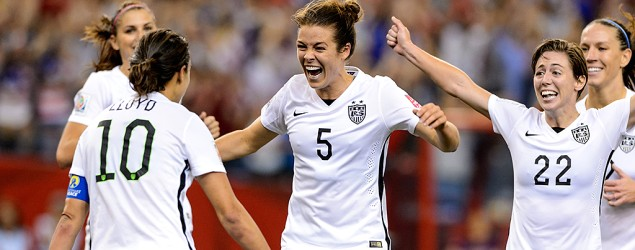 Victory propels U.S. women to World Cup final. (Getty Images)