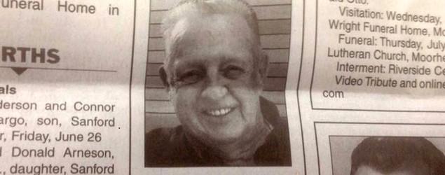 Douglas Legler's obituary (Sky News)