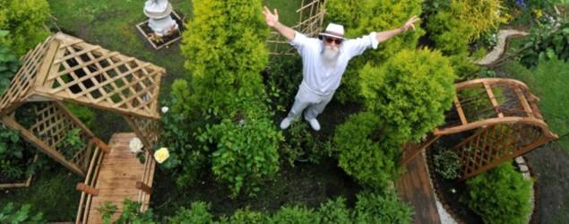 Pensioner's garden