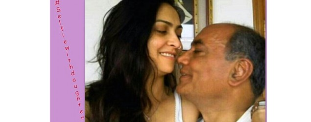 Digvijay Singh with GF in #SelfieWithDaughter article