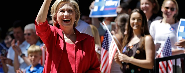 Hillary Clinton warns that Iran nuclear deal won't solve threat from Tehran. (AP)