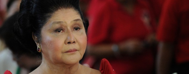 Imelda Marcos turns 86, says she's at peace