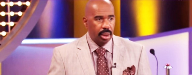 """Family Feud"" host Steve Harvey (Yahoo TV)"