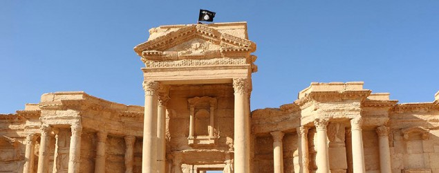 IS video shows mass execution in Palmyra, Syria. (AFP)