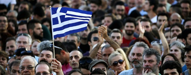 Greece votes 'no' to bailout, Europe reacts. (Reuters)