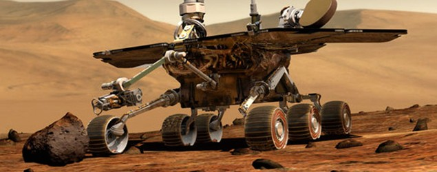 Mars rover sets out-of-this-world driving record. (AP/NASA)