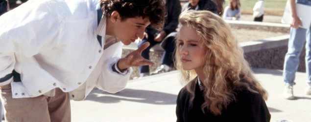 "Patrick Dempsey and Amanda Peterson in ""Can't Buy Me Love."" (Everett Collection)"