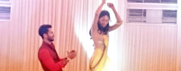 Shahid and Mira's tender moment at their sangeet