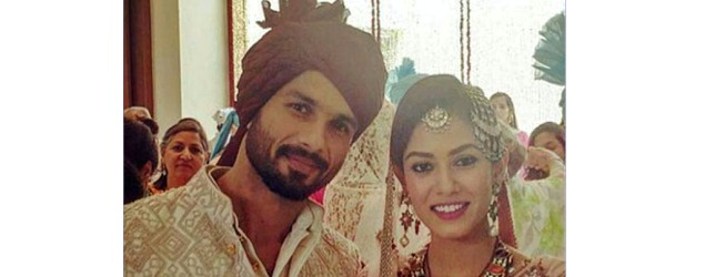 It's official: Shahid & Mira are man and wife
