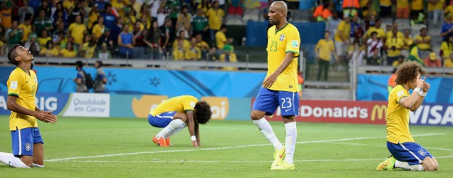 Brazilians struggling to explain big defeat to Germany