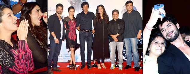 Spotted: Celebrities at 'Haider' launch