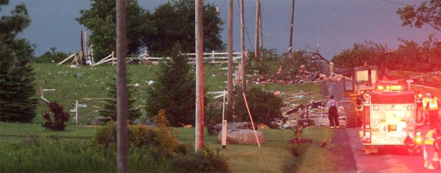 4 dead in severe upstate N.Y. thunderstorms. (AP)