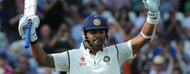 Vijay century gives India opening honours