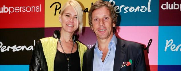 Valeria Mazza y su marido