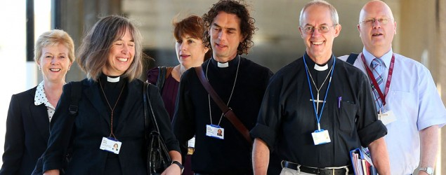 Church of England says yes to women as bishops. (Lynne Cameron/AP)